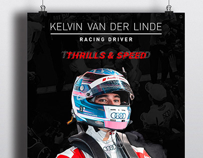 POSTER DESIGN FOR: Kelvin Van Der Linde