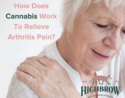 How Does Cannabis Work To Relieve Arthritis Pain?