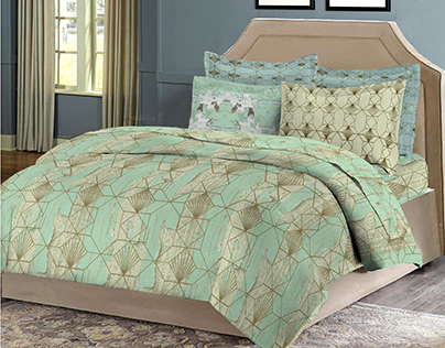 Tattered Textures- print designing for Bombay Dyeing