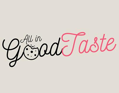 All In Good Taste Logo