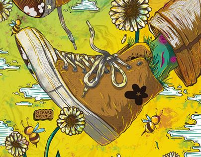 Converse x Golf le Fleur* : Chuck Taylor