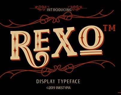 REXO-Typeface
