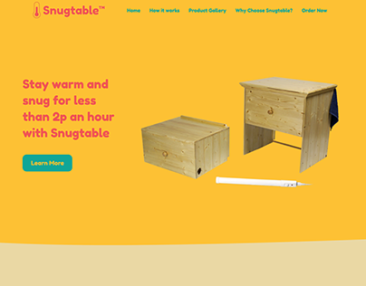 Snugtable Identity Design, Photography and Website