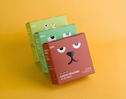 KEPLE | Cracker Package design