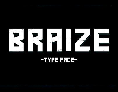 Braize - Font