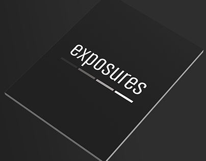 ''Exposures'' Photobook Cover