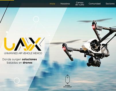 UAVX - Brand & Website