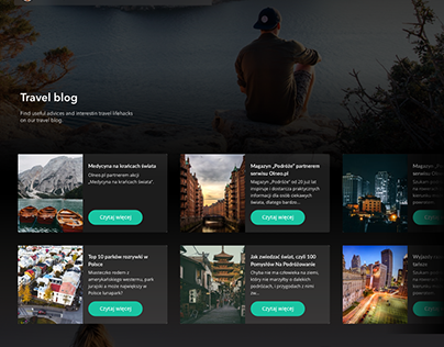 Olneo Website Redesign