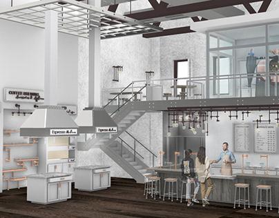 THE COFFEE LABORATORY: DESIGN 5 RETAIL PROJECT