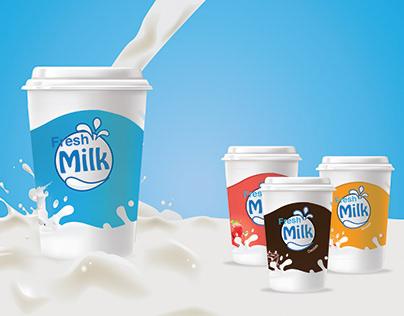 Design of milk packaging