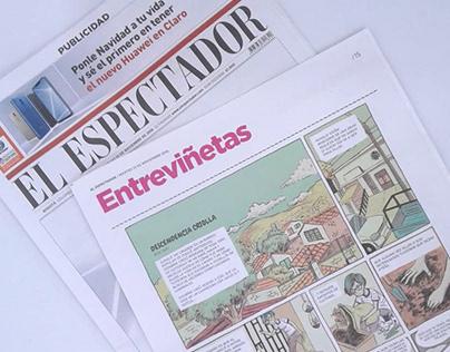 Cómic para El Espectador - Entreviñetas - Nov. 2018