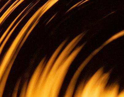 Flamme de verre