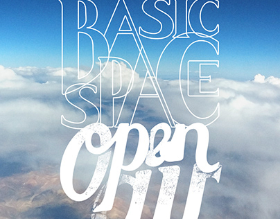 basic space | lettering animation
