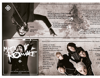 Booklet simulado - My Chemical Romance