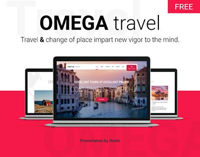 OMEGA travel - Landing Page (FREE)