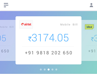 Bills and Recharge Mobile App