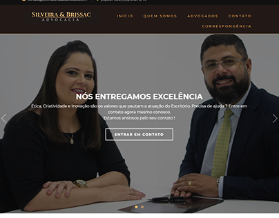 Site Silveira & Brissac Advocacia