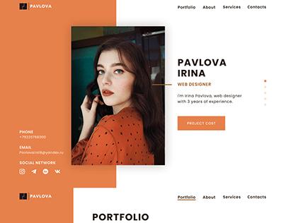 Portfolio web designer