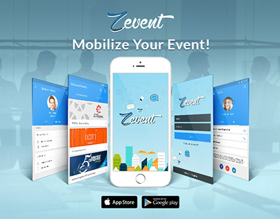 Zevent | Mobile App. Announcement