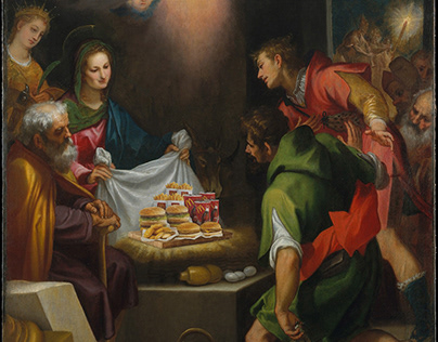 The food lunch of the Shepherds