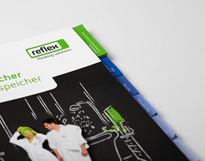"Reflex brochure — ""Hot Water Storage Tanks"""