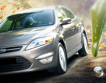 Ford Mondeo launch ad