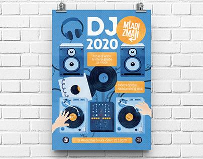 DJing Digital Illustration