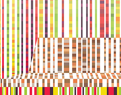 Pattern Poster Serie Inspired by Mecanoo Architectures