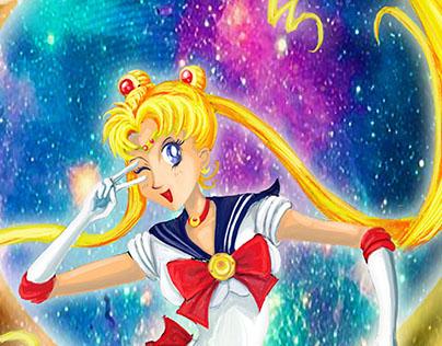 Sailor Moon Fan Art Friday