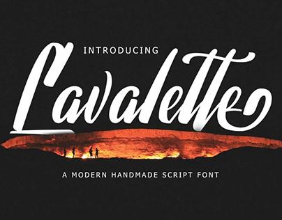 Free Lavalette Script Font