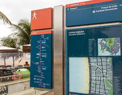 SINALIZAÇÃO - Rio Wayfinding Signage System.