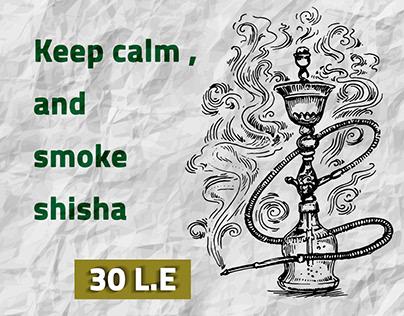 Shisha - Social media design
