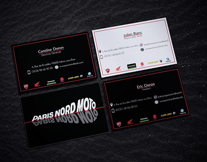 Creation Logo Et Carte De Visite Pour MCO On Behance