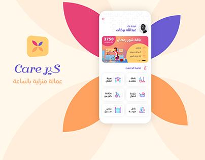 Care Household Helper Booking App