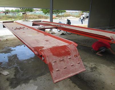 Cầu nâng 1 trụ rửa xe