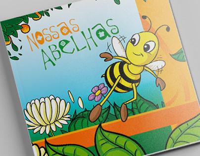 Ilustrações - Nossas abelhas