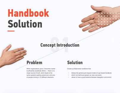 SaaS - Handbook Solution