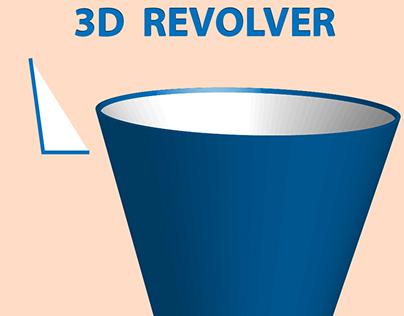 Aprendendo a usar nova ferramenta do AI 3D REVOLVER