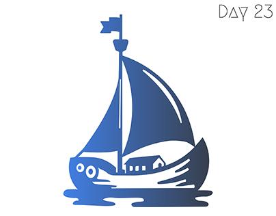 Boat logo design concept