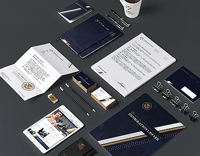 Website design & brand identity for Svetlana L. Kaff