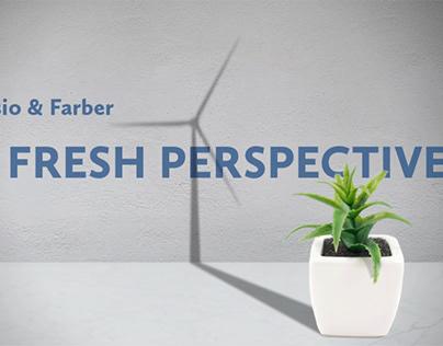 Renewable Energy Website Concept