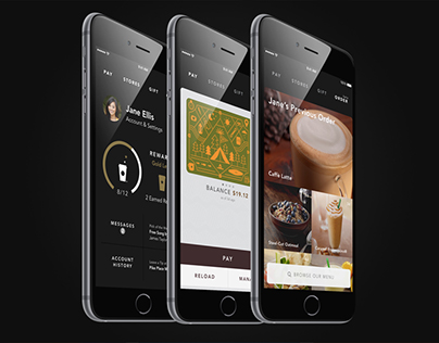 Starbucks App for iPhone 6 and 6 Plus