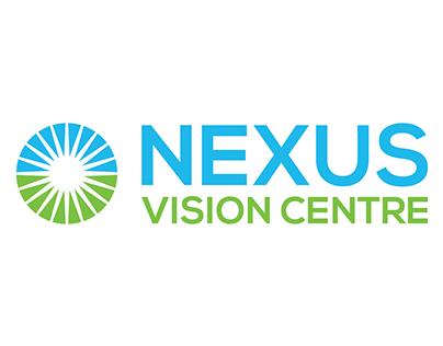Nexus Vision Centre Logo Design