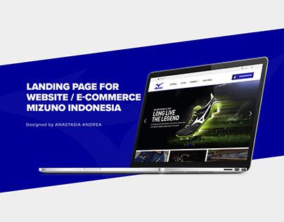 Mizuno Indonesia E-commerce Website