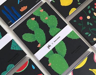 H-Studio / Hand-painted books