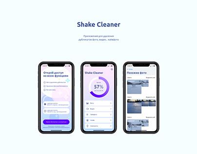 Shake Cleaner app
