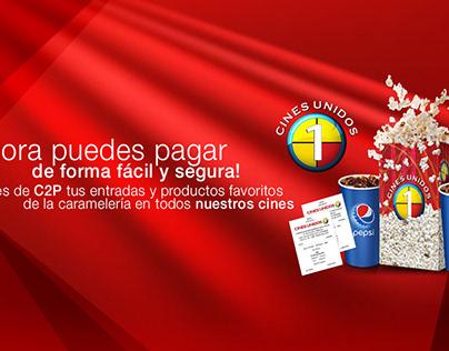 Promoción publicitaria Cines Unidos Venezuela