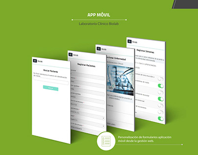 Diseño aplicación web y móvil