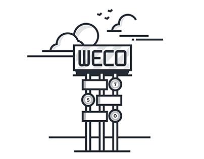 WECO Typeface