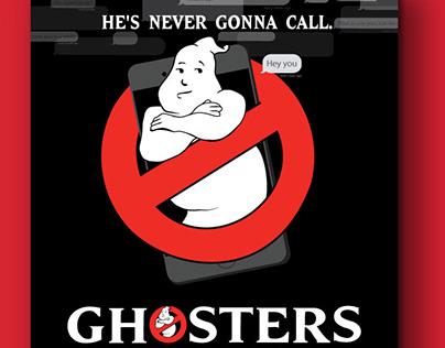Ghosters: Parody Movie Poster